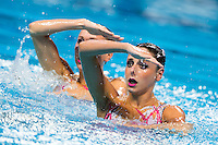CERRUTI Linda e FERRO Costanza ITA <br /> Synchro - Duet free final<br /> Day 07 30/07/2015<br /> XVI FINA World Championships Aquatics Swimming<br /> Kazan Tatarstan RUS July 24 - Aug. 9 2015 <br /> Photo Giorgio Perottino/Deepbluemedia/Insidefoto
