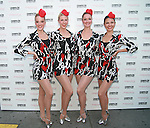 "The Rockettes attend Cosmopolitan Teams Up With Maybelline New York And The United Service Organization (USO) To Collect ""Kisses For The Troops"" in Times Square, New York"