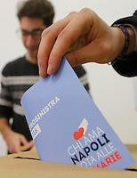 Elezioni primarie del PD  per scegliere  il candidato indaco di Napoli