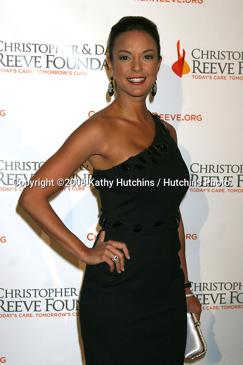 Eva LaRue arriving at the 4th Annual Los Angeles Gala for the Christopher & Dana Reeve Foundation, at the Beverly Hilton Hotel, in Beverly Hills, CA.December 2, 2008.©2008 Kathy Hutchins / Hutchins Photo....