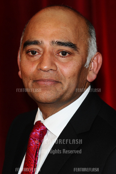 Bhasker Patel  arriving for the British Soap Awards 2012 at London TV Centre, South Bank, London..28/04/2012 Picture by: Steve Vas / Featureflash