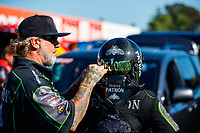 Jul 28, 2017; Sonoma, CA, USA; Jesse James , husband of NHRA funny car driver Alexis DeJoria during qualifying for the Sonoma Nationals at Sonoma Raceway. Mandatory Credit: Mark J. Rebilas-USA TODAY Sports