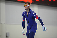 SPEEDSKATING: SALT LAKE CITY: 07-12-2017, Utah Olympic Oval, training ISU World Cup, Joey Mantia (USA), ©photo Martin de Jong