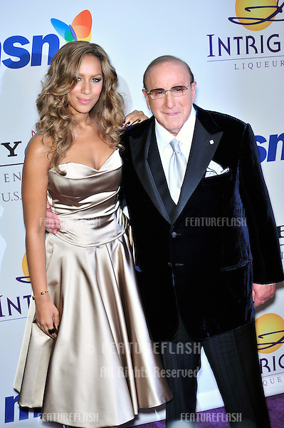 Leona Lewis & Clive Davis at music mogul Clive Davis' annual pre-Grammy party at the Beverly Hilton Hotel..February 9, 2008  Los Angeles, CA.Picture: Paul Smith / Featureflash