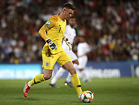 Football: Uefa under 21 Championship 2019, England - France, Dino Manuzzi stadium Cesena Italy on June18, 2019.<br /> England's goalkeeper Dean Henderson in action during the Uefa under 21 Championship 2019 football match between England and France at Dino Manuzzi stadium in Cesena, Italy on June18, 2019.<br /> UPDATE IMAGES PRESS/Isabella Bonotto