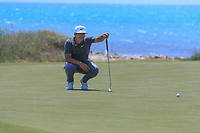 Thorbjorn Olesen (DEN) on the 7th green during Round 1 of the Rocco Forte Sicilian Open 2018 on Thursday 5th May 2018.<br /> Picture:  Thos Caffrey / www.golffile.ie<br /> <br /> All photo usage must carry mandatory copyright credit (&copy; Golffile | Thos Caffrey)