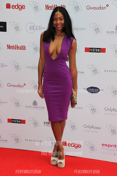 Shanika Warren Markland arriving for the Fifi fragrance Awards 2012 at the Brewery, London. 17/05/2012 Picture by: Steve Vas / Featureflash