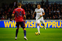 Sunday, 28 November 2012<br /> Pictured:(L-R) Peter Odemwingie and Ashley Williams.<br /> Re: Barclays Premier League, Swansea City FC v West Bromwich Albion at the Liberty Stadium, south Wales.