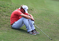 Marcel Siem (GER) resting on the 6th during Round 3 of the Maybank Championship at the Saujana Golf and Country Club in Kuala Lumpur on Saturday 3rd February 2018.<br /> Picture:  Thos Caffrey / www.golffile.ie<br /> <br /> All photo usage must carry mandatory copyright credit (© Golffile | Thos Caffrey)