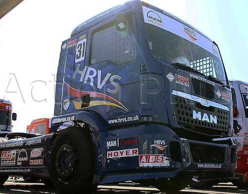 28.08.2015. Most, Czech Republic. FIA European Truck Racing Championship. Czech Truck Prix.<br /> the truck of Mathew SUMMERFIELD (GB), MAN