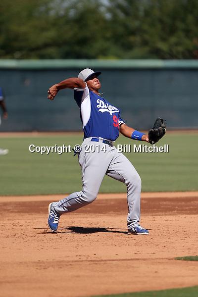 Alberto Estrella - 2014 AIL Dodgers (Bill Mitchell)
