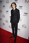 BEVERLY HILLS, CA - JANUARY 20: Actor Timothee Chalamet attends the 29th Annual Producers Guild Awards at The Beverly Hilton Hotel on January 20, 2018 in Beverly Hills, California.
