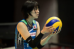 Wing spiker Yurie Nabeya of Japan in action during the FIVB Volleyball World Grand Prix match between Japan vs Russia on 23 July 2017 in Hong Kong, China. Photo by Marcio Rodrigo Machado / Power Sport Images