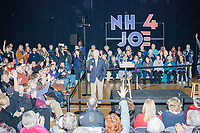Democratic presidential candidate and former Vice President Joe Biden speaks at a campaign event at The Sports Barn in Hampton, New Hampshire, on Sun., December 8, 2019.