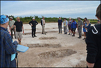 BNPS.co.uk (01202 558833) <br /> Pic: BournemouthUniversity/BNPS<br /> <br /> Winterbourne Kingston Archaelogical dig.
