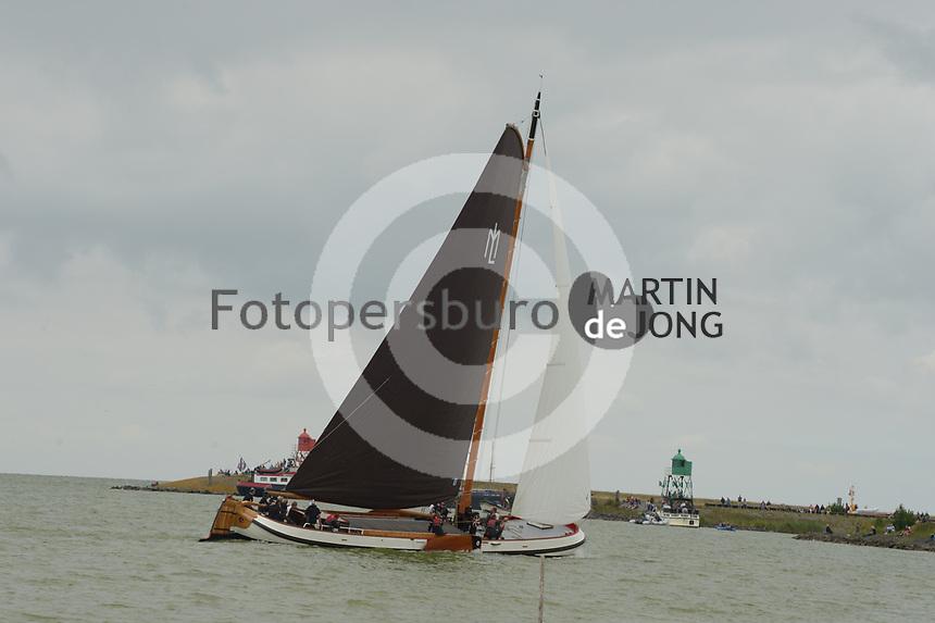 ZEILSPORT: STAVOREN: 03-08-2019, SKS Skûtsjesilen, ©foto Martin de Jong
