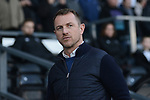Derby County manager Gary Rowett before the championship league match between Derby and Millwall at Pride Park Stadium, Derby. Picture date 23rd December 2017. Picture credit should read: Joe Perch/Sportimage