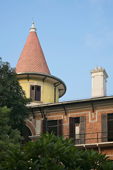 Staff Quarters, Imperial Maritime Customs (1908), 2-6 Main Street, Shamian (Shameen) Island.  This Building Is Still Used As A Club And Accommodation By The Customs Service.