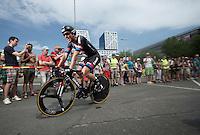 John Degenkolb (DEU/Giant-Alpecin) after finishing <br /> <br /> stage 1 prologue: Utrecht (13.8km)<br /> Tour de France 2015