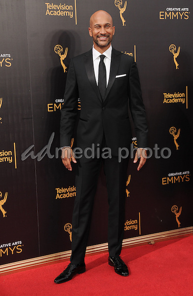 11 September 2016 - Los Angeles, California. Keegan Michael Key. 2016 Creative Arts Emmy Awards - Day 2 held at Microsoft Theater. Photo Credit: Birdie Thompson/AdMedia