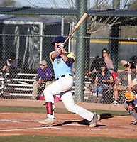 Joshua Randall takes part in the 2020 Under Armour Pre-Season All-America Tournament at the Chicago Cubs training complex and Red Mountain baseball complex on January 18-19, 2020 in Mesa, Arizona (Bill Mitchell)