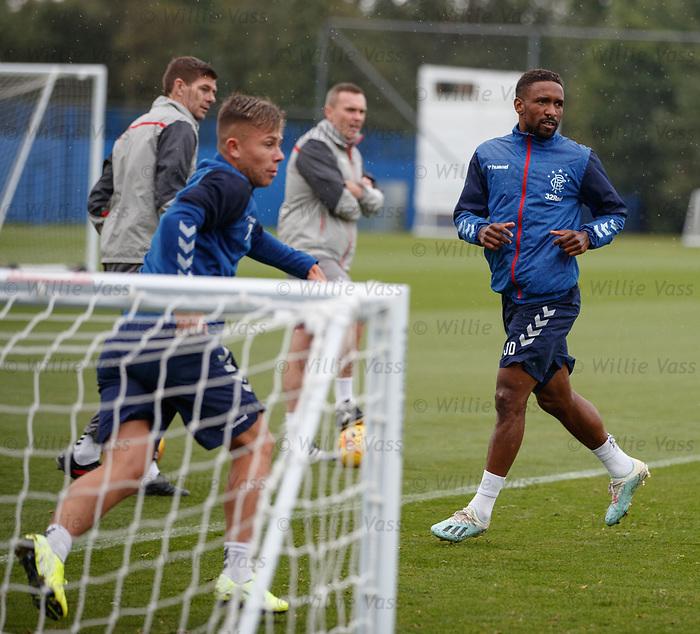 30.08.2019 Rangers training: Jermain Defoe