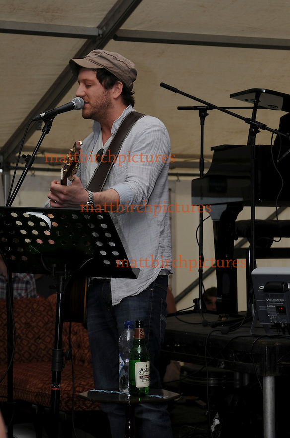 Matt Cardle pops along to brownstock 2011 to catch up with some old friends