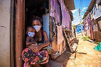 21/05/2020 - HIGIENIZAÇÃO NA FAVELA SANTA CRUZ NO RIO DE JANEIRO