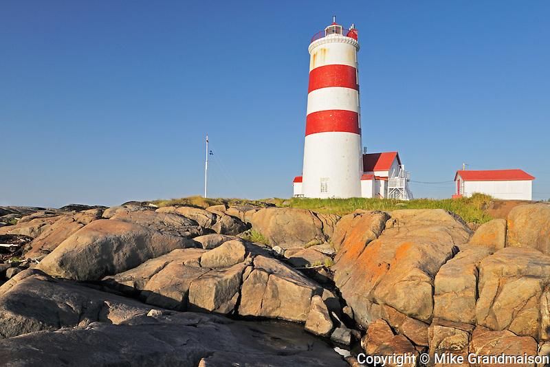 Pointe des Monts Lighthouse<br /> Pointe des Monts<br /> Quebec<br /> Canada