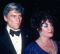 John Warner Elizabeth Taylor 1985<br /> Photo By John Barrett/PHOTOlink.net