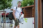 07.07.2020, Trainingsgelaende am wohninvest WESERSTADION,, Bremen, GER, 1.FBL, Werder Bremen - der Tag nach Heidenheim, im Bild<br /> <br /> <br /> Jiri Pavlenka (Werder Bremen #01) kommt mit seinen Trainingsaufgaben aus dem Stadion<br /> <br /> <br /> <br /> Foto © nordphoto / Kokenge