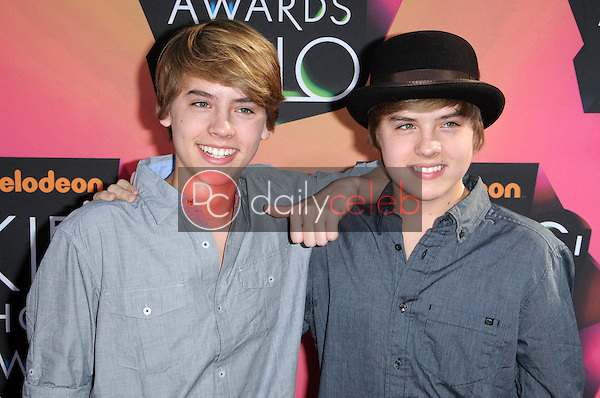 Dylan and Cole Sprouse<br />