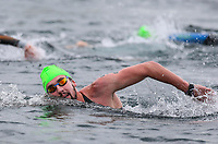 Michael Mincham. Swimming New Zealand Open Water Championships, 10km Epic, Lake Taupo, Waikato, New Zealand, Saturday 13 January 2018. Photo: Simon Watts/www.bwmedia.co.nz