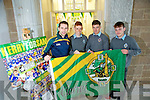 A Quantum of Sporting talent from CBS the Green with Kerry Senior  Marc O'Se,  Kerry Minors,  Jack Morgan, Ivan Parker and Kerry Hurler Darragh Ryan, ready for the weekend ahead