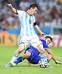 Lionel Messi (ARG),<br /> JUNE 15, 2014 - Football / Soccer : FIFA World Cup Brazil 2014 Group F match between Argentina 2-1 Bosnia Herzegovina at Estadio do Maracana in Rio de Janeiro, Brazil.<br /> (Photo by Song Seak-In/AFLO)