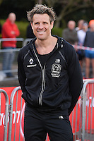 James Cracknell<br /> at the start of the 2016 London Marathon, Blackheath, Greenwich London<br /> <br /> <br /> &copy;Ash Knotek  D3108 24/04/2016
