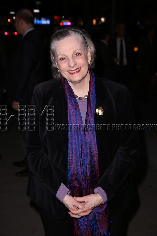 Dana Ivey attends 'The Robber Bridegroom' Off-Broadway Opening Night performance at Laura Pels Theatre on March 13, 2016 in New York City.