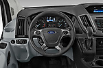 Car pictures of steering wheel view of a 2019 Ford Transit-Van - 4 Door Cargo Van Steering Wheel
