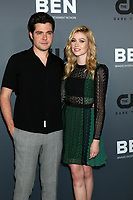 LOS ANGELES - AUG 4:  Ben Lewis, Katherine McNamara at the  CW Summer TCA All-Star Party at the Beverly Hilton Hotel on August 4, 2019 in Beverly Hills, CA
