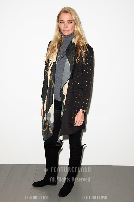 Jodie Kidd at the Marta Jakubowski show during London Fashion Week AW18, at the Freemasons' Hall in London, UK. <br /> 16 February  2018<br /> Picture: Steve Vas/Featureflash/SilverHub 0208 004 5359 sales@silverhubmedia.com