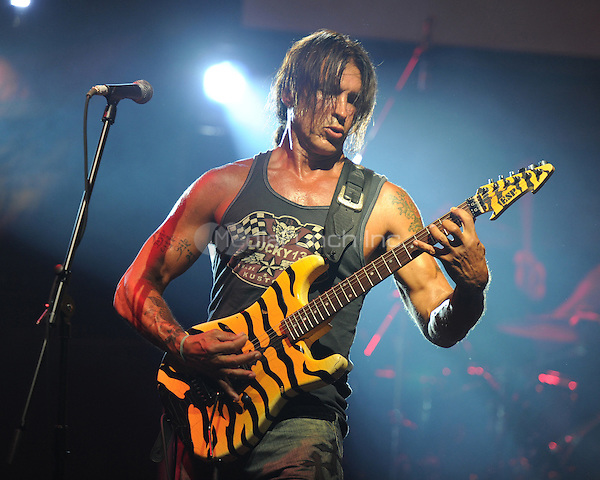 FORT LAUDERDALE FL - AUGUST 6 :  George Lynch of the Lynch Mob performs at the Culture Room on August 6, 2011 in Fort Lauderdale, Florida. © MPI04 / Media Punch Inc.