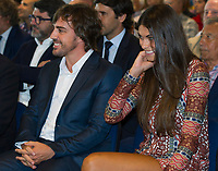 2017 09 04 Fernando Alonso is the new honorary partner of Real Madrid
