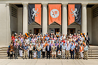 (Photo by Don Milici, Freelance)<br /> <br /> Group photo - Fifty Year Club, Thorne Hall.<br /> <br /> Occidental College hosts its annual Alumni Reunion Weekend, June 22-24, 2018 on campus. This year, alumni from the classes of 1968, 1973, 1978, 1983, 1988, 1993, 1998, 2003, 2008 and 2013 gathered to reconnect with friends and family in the Oxy community.<br /> <br /> (Photo by Don Milici, Freelance)