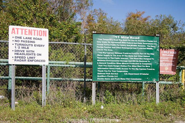 11 Mile road, Big Cypress Preserve, Florida