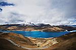 Yamdrok Lake, Tibet.