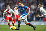 Lee Wallace on the move