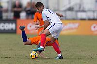 LAKEWOOD RANCH, FL - December 3, 2017: The U-17 England vs Netherlands. The 2017 Nike International Friendlies at Premier Sports Campus.
