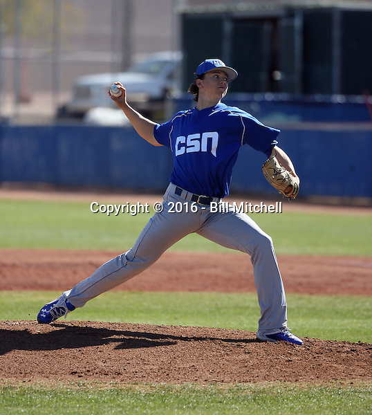 Mikey York - 2016 College of Southern Nevada Coyotes (Bill Mitchell)