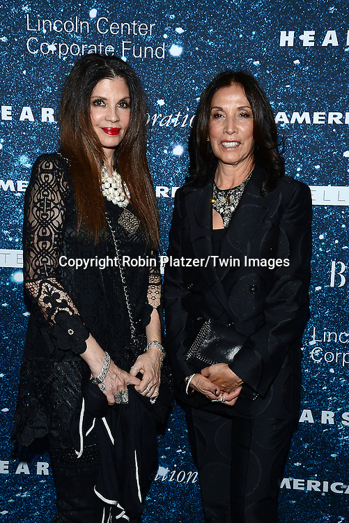 Lori Rodkin and Olivia Harrison attend the Stella McCartney Honored by Lincoln Center at Gala on November 13, 2014 at Alice Tully Hall in New York City, USA. She was given the Women's Leadership Award which was presented bythe LIncoln Center for the Performing Arts' Corporate Fund.<br /> <br /> photo by Robin Platzer/Twin Images<br />  <br /> phone number 212-935-0770