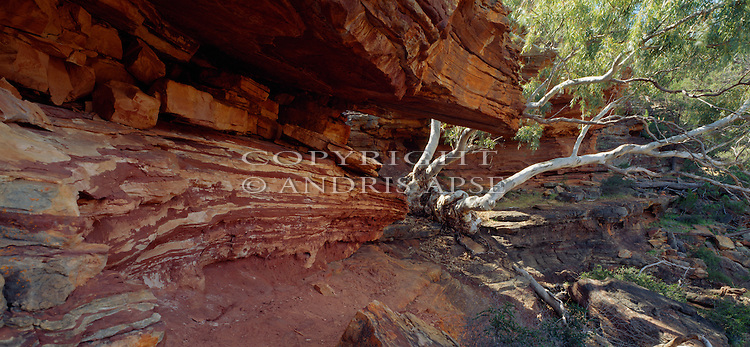 Rock formations in Kalbarri National Park. Western Australia. Australia.